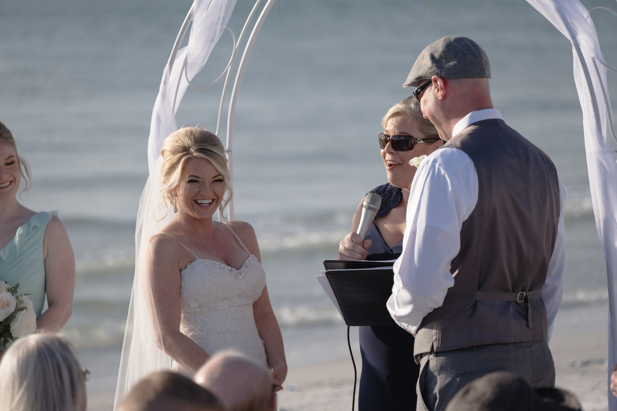 Beach Weddings at Hotel | Siesta Key, Florida