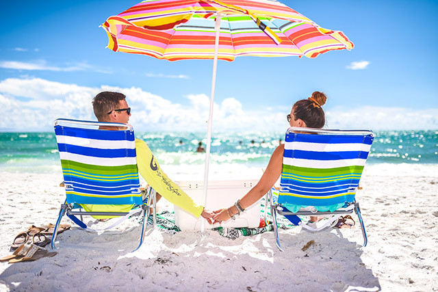 romantic vacation on siesta key