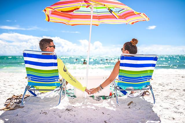 romantic vacation on siesta key