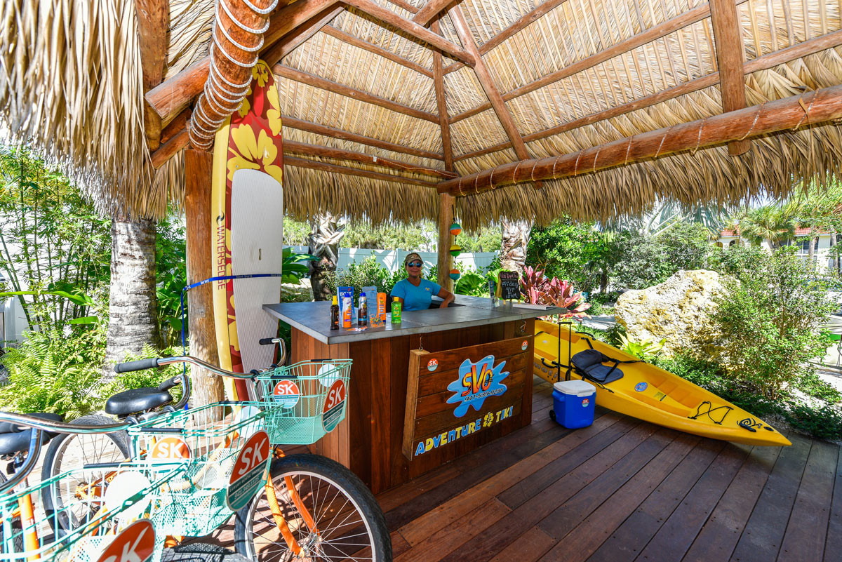 Tropical Breeze Resort Adventure Tiki Rentals