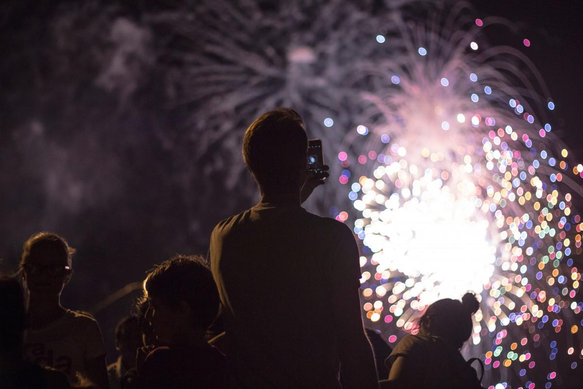 siesta key fireworks